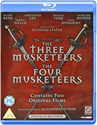 The Three Musketeers / The Four Musketeers - 2-Disc Set ( The 3 Musketeers / The 4 Musketeers ) ( The Revenge of Milady ) [ Blu-Ray, Reg.A/B/C Import - United Kingdom ]