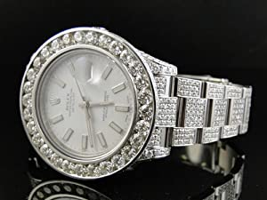 New Rolex Date Just II 2 with 30 ct VS Diamonds