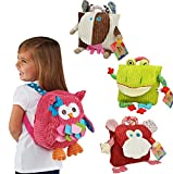 BAO CORE Kids Toddlers Vivid Exquisite Animal Cow/Owl Travel Backpack...