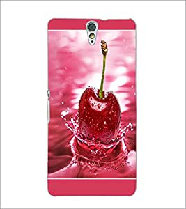 PrintDhaba Cherry D-1379 Back Case Cover for SONY XPERIA C5 ULTRA (Multi-Coloured)