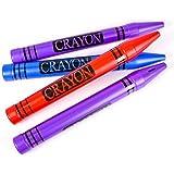 """22.5"""" Jumbo Crayon Bank, Case Of 48"""