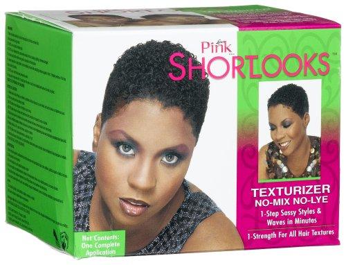 Luster Pink Shortlooks Texturizer Kit No-Mix No-Lye