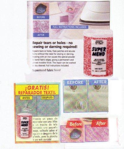 SUPERMEND FABRIC REPAIR KIT POWDER LIKE WUNDA/WEB 80 gram pack