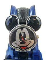 Disney Mickey Ears Watch - Black Mickey Mouse Analog Watch