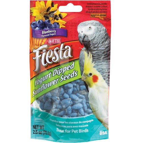 Image of Kaytee Fiesta Yogurt Dipped Bird Treats, Blueberry, 2.5oz (B006P4AZIM)