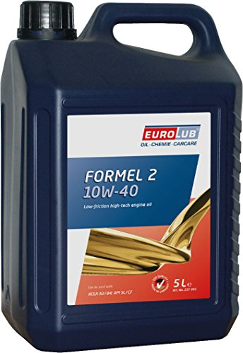 EUROLUB Motoröl FORMEL 2 SAE 10W-40, 5 Liter
