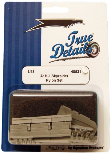 True Details A-1H/J Skyraider Pylon Set