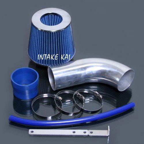 Blue 2011 2012 Hyundai VELOSTER Accent 1.6 1.6L GDi RAM Air Intake Kit Systems (Hyundai Veloster Intake compare prices)