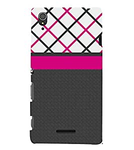 Amazing Pattern 3D Hard Polycarbonate Designer Back Case Cover for Sony Xperia T3