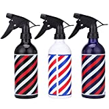 Alonea Hairdressing Sprayer, Hairdressing Spray Bottle Salon Barber Hair Tools Water Sprayer 500ML 3 Pack