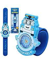 (Poli) Robocar Poli One Touch Jelly Watch Toy Korea Tv Animation