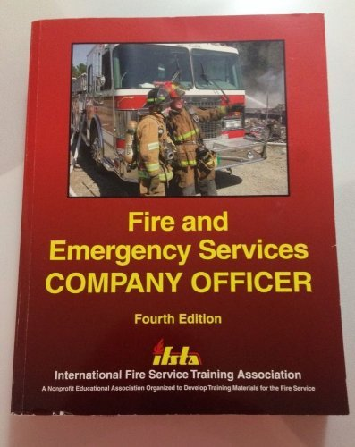 Fire and Emergency Services Company Officer (Ifsta Company Officer compare prices)