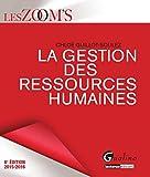 La gestion des ressources humaines 2015-2016