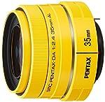 PENTAX 標準単焦点レンズ DA35mmF2.4AL イエロー Kマウント APS-Cサイズ 21991
