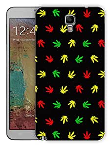 """Humor Gang Grass Pattern - Multicolor Printed Designer Mobile Back Cover For """"Samsung Galaxy Note 3 Neo"""" (3D, Matte, Premium Quality Snap On Case)"""