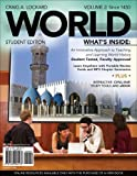 img - for WORLD, Volume 2 (with Review Cards and History CourseMate with eBook, Wadsworth World History Resource Center 2-Semester Printed Access Card) book / textbook / text book