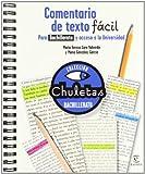 Comentario de texto fácil para Bachillerato (CHULETAS)