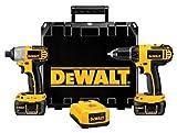 DeWalt DCK265L 18-Volt Li-Ion Cordless Compact Drill Driver and Impact Driver Combo Kit