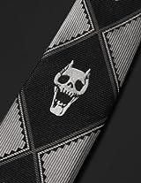 KILL A Jacquard tie Black ジョジョの奇妙な冒険 吉良吉影 ジャガード ネクタイ