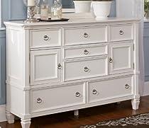 Hot Sale Cottage Style White Prentice Bedroom Dresser
