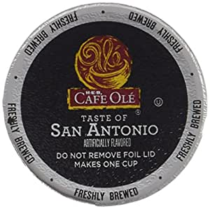 Amazon Com Heb Cafe Ole Coffee K Cup 12ct Box Pack Of 4