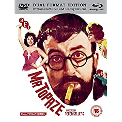 Mr Topaze [Blu-ray]