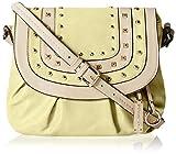Gussaci Italy Women's Handbag (Yellow) (GC327)