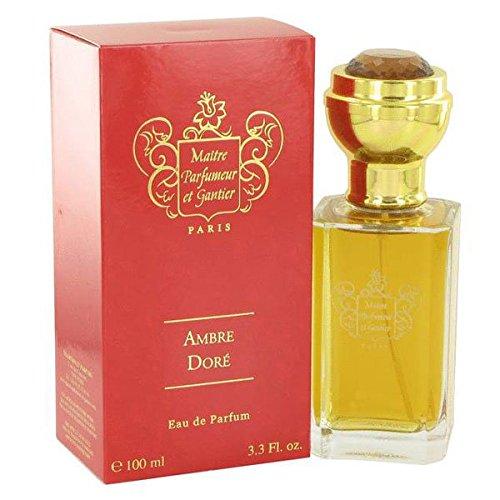 Ambre Dore POUR FEMME par Maitre Parfumeur et Gantier - 100 ml Eau de Parfum Vaporisateur