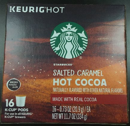 Starbucks Salted Caramel Hot Cocoa Keurig K-Cups, 16 Count (Hot Chocolate Salted compare prices)