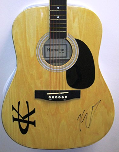 KENNY CHESNEY Signed Autograph Acoustic Guitar Country Music