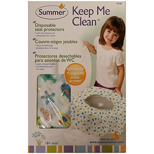 Summer Infant Keep Me Clean Disposable Potty Protectors, 20 Count front-527745