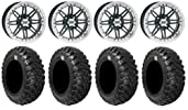ITP SS216 14″ Wheels Machined 30″ Kanati Mongrel Tires Polaris RZR 1000 XP / Ranger 900 XP