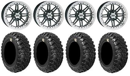ITP SS216 14″ Wheels Machined 30″ Kanati Mongrel Tires Polaris RZR 1000 XP / Ranger 900 XP