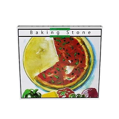 "Sassafras SuperStone 15"" Pizza Stone with Rack"