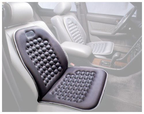 Image of Wagan IN9235 Light Gray Magnetic Bubble Seat Cushion