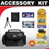 DELUXE ACCESSORY KIT FOR THE THE CANON VIXIA HF100 FLASH MEMORY HIGH DEFINITION CAMCORDER AND FOR THE CANON VIXIA HF10 FLASH MEMORY HIGH DEFINITION CAMCORDER