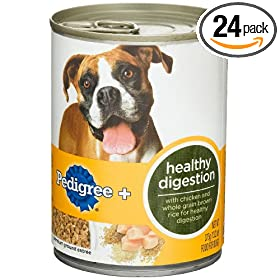 Pedigree + Healthy, Food for Dogs, 13.22-Ounce Cans (Pack of 24)
