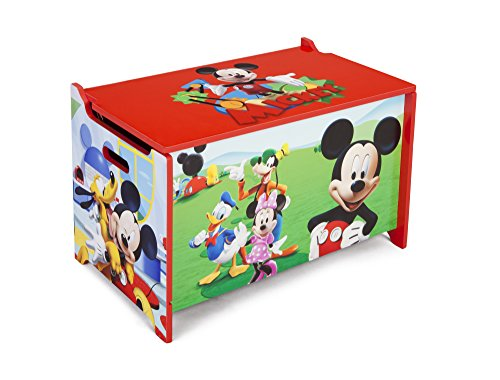 Delta Wooden Mickey Mouse Toy Box