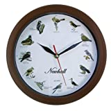 Newhall Singing Bird Wall Clock