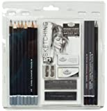 Royal & Langnickel Essentials Sketching Pencil Set, 21-Piece