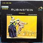 ARTUR RUBINSTEIN Schumann Carnaval &…
