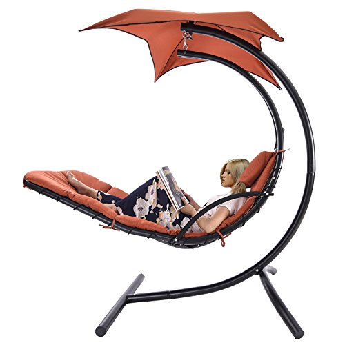 uenjoy-swing-hanging-chaise-lounger-chair-arc-stand-air-porch-hammock-canopy-chair