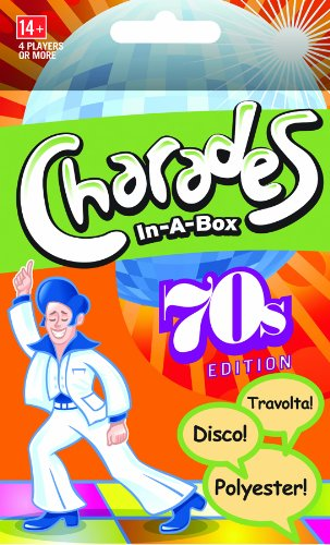 Charades-in-a-box: 70s - 1