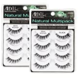 Ardell Multipack Demi Wispies Fake Eyelashes 2 Pack (Color: Black)