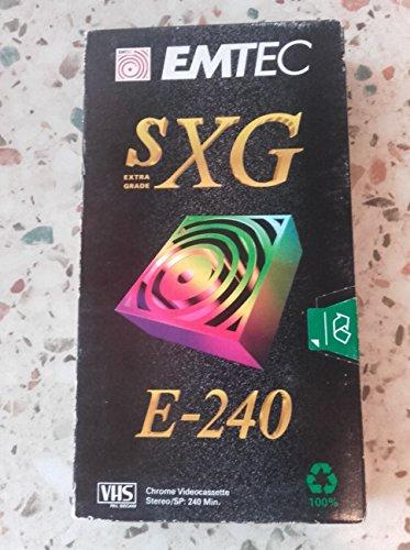 basf-emtec-sxg-e-240-vhs-videocassette