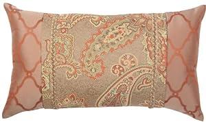 Orange Bronze Paisley 13 x 22 Alamosa Pillow