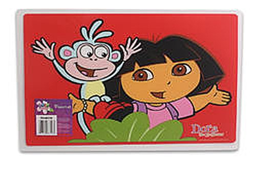 Dora the Explorer and Boots Plastic Placemat Place Mat (6-pack) - 1