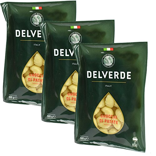 Delverde Gnocchi Di Patate 17.6oz 3 Pack (Gia Russo Sauce compare prices)