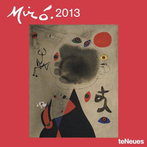 2013 Joan Mir-- Wall Calendar