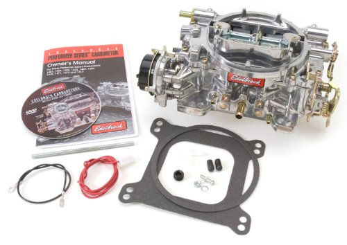 Edelbrock 1406 Performer 600 CFM Square Bore 4-Barrel Air Valve Secondary Electric Choke Carburetor (Carberator Intake compare prices)